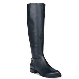 NWOB Nine West Navy Leather Boots